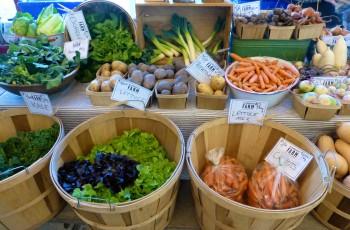 HFM MX baskets greens carrots potatoes