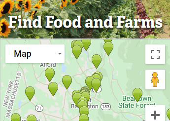 Find Food and Farms
